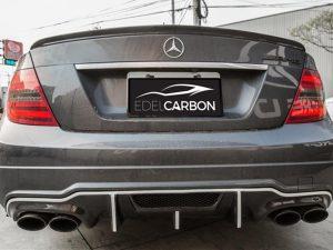 CARBON DIFFUSOR BLACK SERIES STYLE C63 + AMG PAKET FACELIFT 2