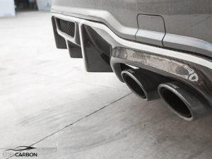 CARBON DIFFUSOR BLACK SERIES STYLE C63 + AMG PAKET FACELIFT 3