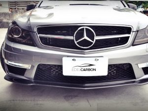 CARBON FRONTLIPPE BLACK SERIES STYLE C63 FACELIFT 1