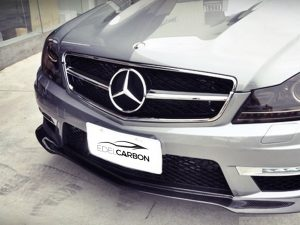 CARBON FRONTLIPPE BLACK SERIES STYLE C63 FACELIFT 2