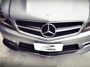 CARBON FRONTLIPPE BLACK SERIES STYLE C63 FACELIFT 3