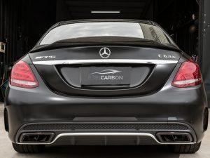 Carbon Race Style Heckspoiler W205 Limousine 5