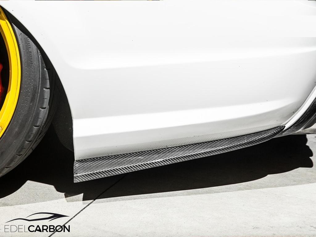 Carbon Splitter Stossf 196 Nger Hinten F 220 R Mercedes Benz C