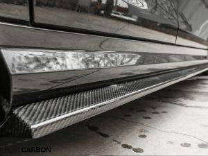 SHOP CARBON SEITENSCHWELLER R STYLE C63 + AMG PAKET 3